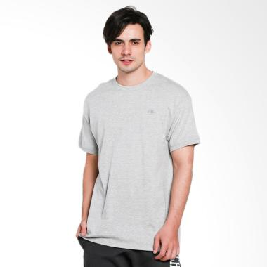 Champion Classic Jersey Ringer Tee Atasan Pria - Oxford Grey