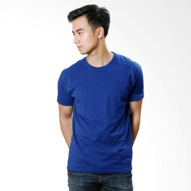 Neils Kaos Polos T-Shirt Pria - Royal Blue