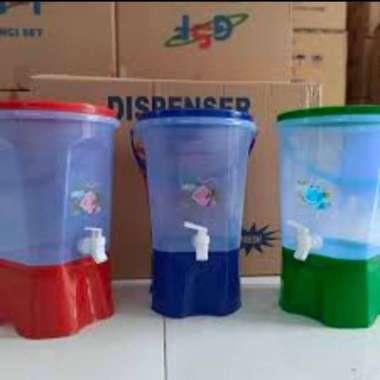 harga Promo tempat air minum kran plastik -dispenser air murah 9 liter multicolor Blibli.com