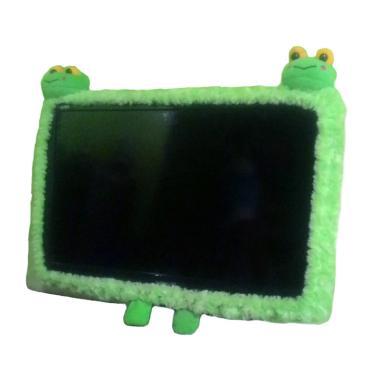 AGBS Model 2 Kepala Boneka Karakter Keropi Bando TV LED - Hijau