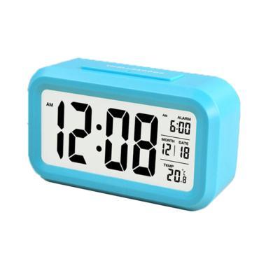 Jam Meja Digital With Alarm JM001 - Blue
