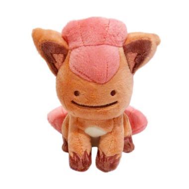 Pokemon Vulpix Pokemon Ditto Transform Nitendo Japan Boneka Original