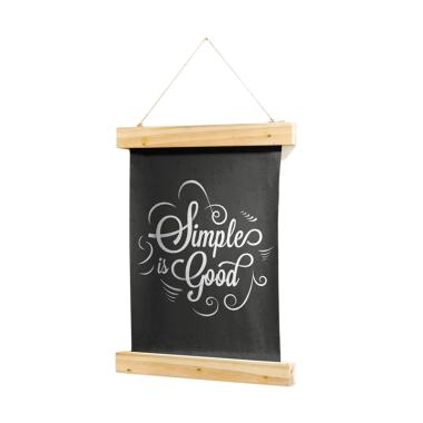 Kayugraphy A066 Quote Wooden Vintag ... asan Dinding [30 x 40 cm]