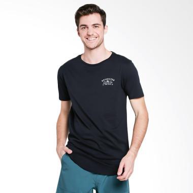 Quiksilver Sclspacerfacer M Tees T-Shirt Pria - Anthracite [KVJ0]