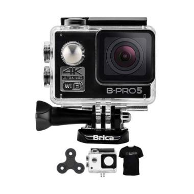 Brica B-PRO 5 Alpha Edition 2 AE2 4 ... pin Action Camera - Hitam