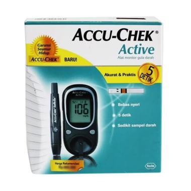 Accu Check Active Meter Kit Peralatan Medis