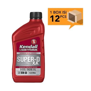 Kendall Super D XA Premium Synthetic Blend SAE 10W 30 Diesel Engine Oli Pelumas