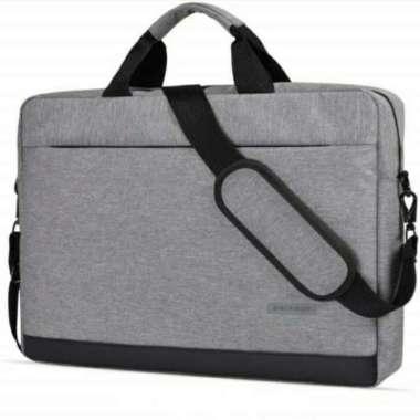 harga Tas Laptop Selempang Waterproof Huiphone 14 inch Abu-abu Blibli.com