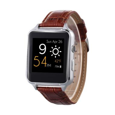 Xwatch PJ11 X7 Smartwatch for Android or iOS - Gold Brown
