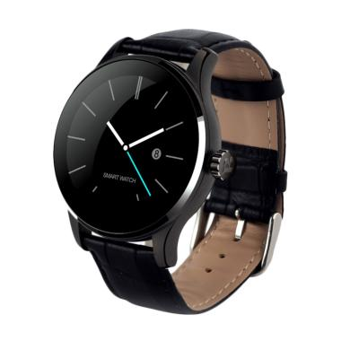 Xwatch K88H Strap Kulit Smartwatch for Android and iOS