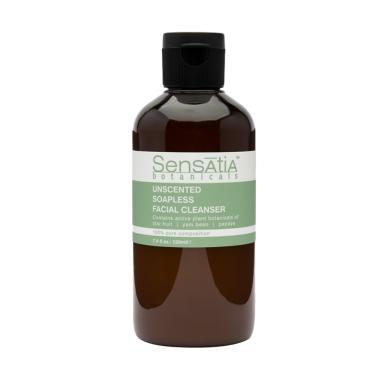 Sensatia Botanicals Unscented Soapless Facial Cleanser [220 mL]