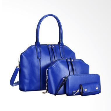 Lansdeal Shoulder Bag Women Handbag Tas Wanita - Blue