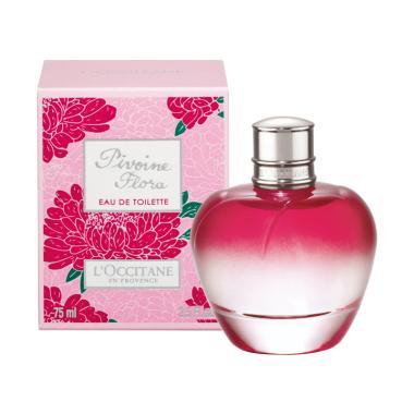 L'Occitane Pivoine Flora Eau de Toilette Parfum Wanita [75 mL]