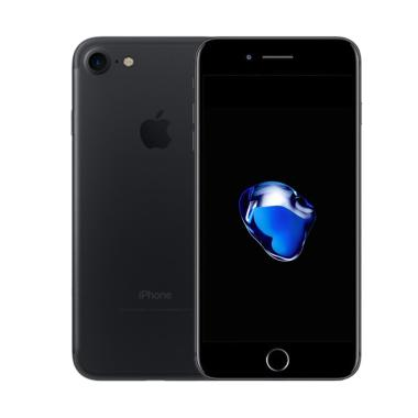 Apple iPhone 7 128GB Smartphone - Black Matte [Refurbish]