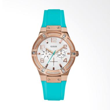 GUESS W0564L3 Women Multi-function  ...  - Silver Rose Gold Tosca