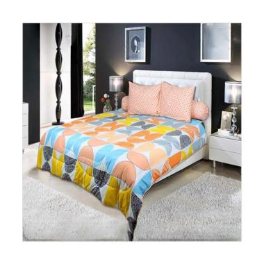 My Love Orenji Set Sprei - Orange [Tinggi 30 cm]