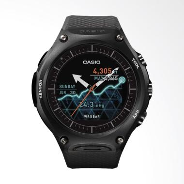 CASIO Protrek Smart Outdoor Resin B ... Pria - Black [WSD-F10-BK]