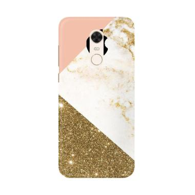 Flazzstore Pink And Gold Marble App ... g for Xiaomi Redmi 5 Plus