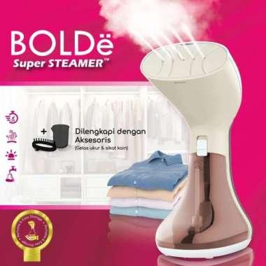 harga Bolde Super Steamer Laviola Setrika Uap Tangan - Beige Multicolor Blibli.com