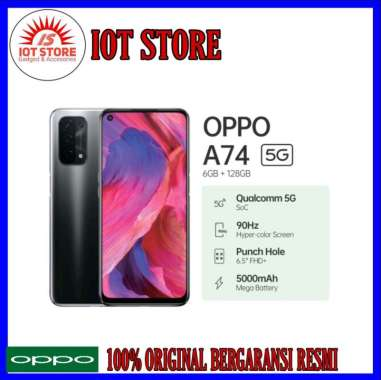 Oppo A74 5G Ram 6Gb + Rom 128Gb BLACK