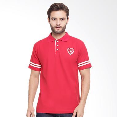 JAVA SEVEN Wangky Kaos Polo Pria - Merah [DED 625]