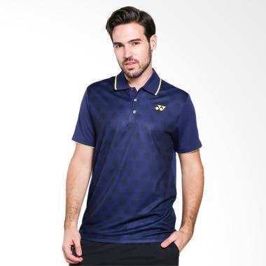 YONEX Men Polo T-Shirt Baju Olahrag ... ue [PM-G017-903-28B-17-S]
