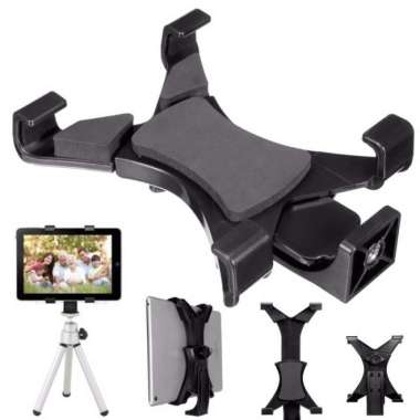 harga Promo Holder Bracket Clamp Tripod 14 for Tablet Galaxy Tab iPad Diskon Blibli.com
