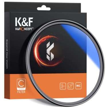 harga K & F Mc Filter Pelindung Uv Slim Frame Multi Coating Untuk Lensa Kamera Blibli.com