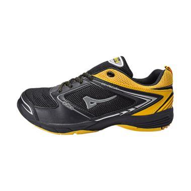 Ardiles Men Superfly Sepatu Badminton Pria - Hitam Kuning