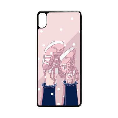 harga Bunnycase Sneakers Girl Art L0433 Custom Hardcase Casing for Sony Xperia XA1 Ultra Blibli.com