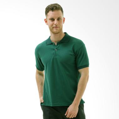VM Kaos Polo Shirt Pria - Hijau Army