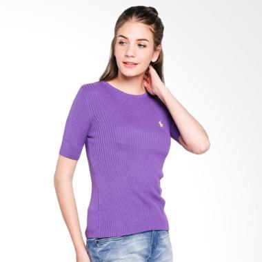POLO RALPH LAUREN Custom Fit S-S Pa ...  - Purple - Y13106EM7GY -