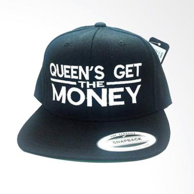 Jersi Clothing Queen s Money Snapback Topi Pria - Hitam d2bec379b2