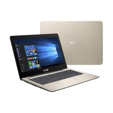 harga Asus A407UB-BV066T ICICLE Notebook - Gold [Intel Core i3-6006U Dual Core/4GB/1TB/MX110 2GB/14 Inch HD/Windows 10 Home] Blibli.com
