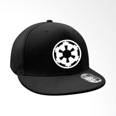 JersiClothing Star Wars Empire Snapback Topi Pria - Hitam