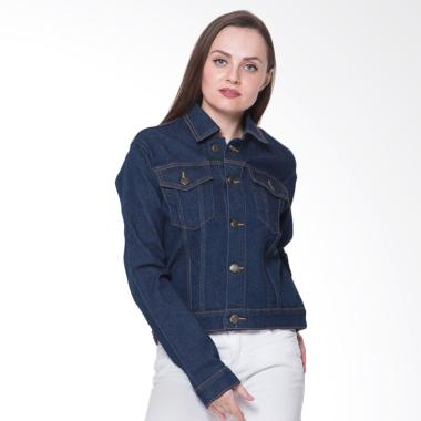 2nd RED 291802 Jeans Premium Stretch Jaket Wanita - Blue Black