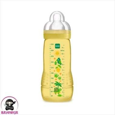 harga MAM Easy Activ Baby Bottle Botol Susu Bayi  4mo 330ml Yelow Blibli.com