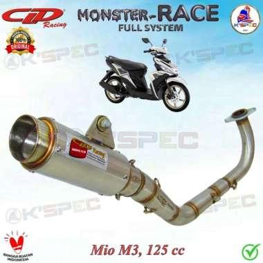 harga CLD Racing MONSTER RACE 175mm YAMAHA MIO M3 125cc Knalpot Fullsystem Blibli.com
