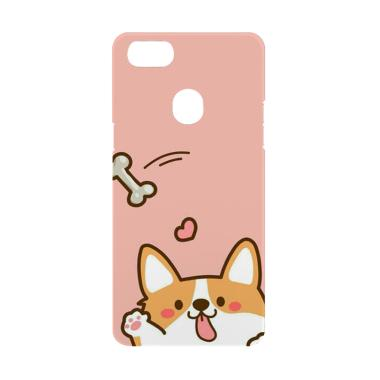 Cococase DOG Chibi W4843a Casing for Oppo F7