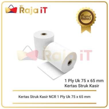Kertas Struk Kasir NCR 1 Ply Uk 75 x 65 mm TELSTRUK 75x65 Paper Roll