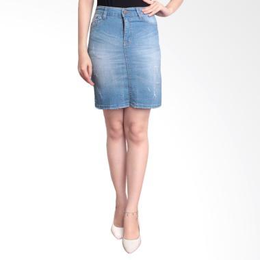 Adore Ladies 964113 Rok Pendek Jeans Wanita