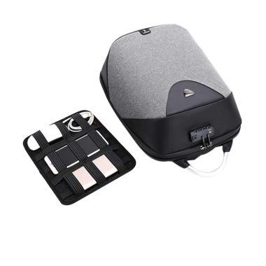 Arctic Hunter B00208 Tas Ransel USB ... ital Storage Board - Grey
