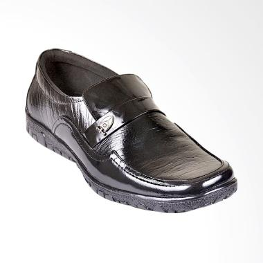 CBR Six Sepatu Formal Pria - Hitam [TFC 379]