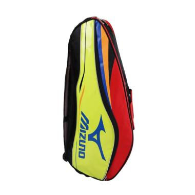 25142dbb6e Mizuno Neon Lining Tas Raket Badminton - Yellow Red
