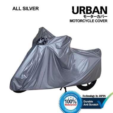 harga Urban / Cover Motor Honda Scoopy 100% Waterproof / Aksesoris Motor Scoopy / DSM ALL SILVER Blibli.com