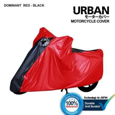 harga Urban / Cover Motor Honda Scoopy 100% Waterproof / Aksesoris Motor Scoopy / DSM DOMINANT RED-BLACK Blibli.com