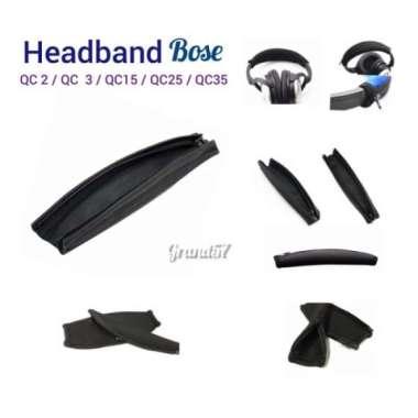 harga Dijual Headband earband cover busa headphone bose qc2 qc3 qc15 qc25 qc35 ae2 Berkualitas Blibli.com