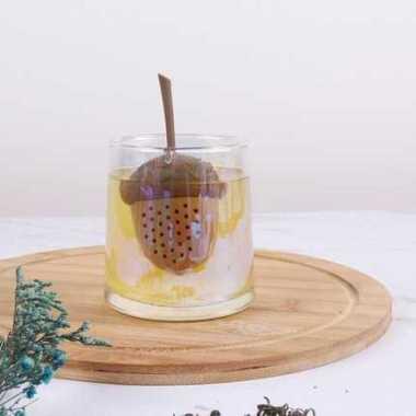 harga VRS BalmyDays Saringan Teh Tea Filter Infuser Filter Model Walnut - K523 Transparan Blibli.com