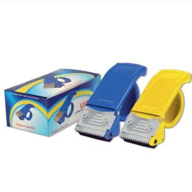 harga Tape Dispenser Lion SDL-01-SDL-02 (Besi) - Pemotong Lakban 2 inch Multicolor Blibli.com