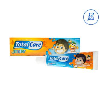 Total Care Junior Juicy Orange Toothpaste [50 g/ 12 pcs]